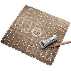 interdesign pebblz square shower mat walmart