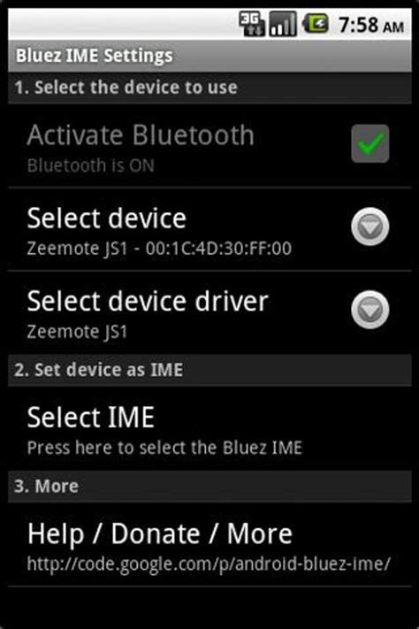 Bluez IME para Android - APK Baixar