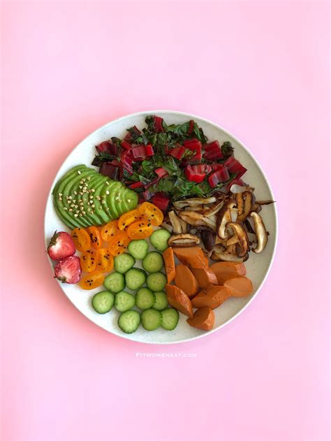 colorful food colorful meal prep fit eat