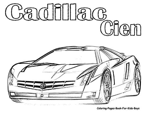 Sports Cars Coloring Pages Sports Car Coloring Page