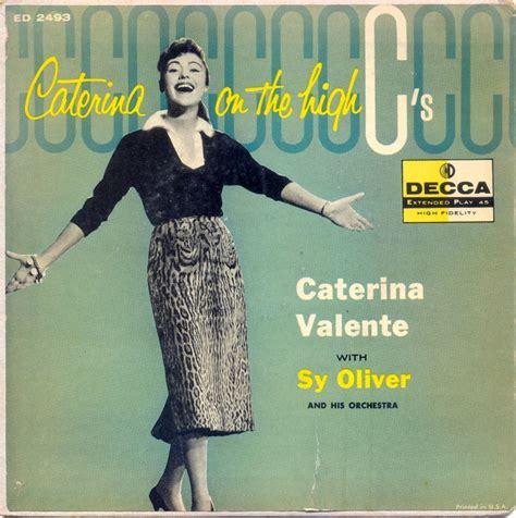 caterina valente flamingo 45cat caterina valente caterina on the high quot c s