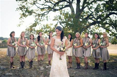 Rustic Country Wedding Bridesmaid Dresses Cheap Pictures