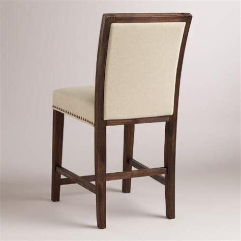 linen bar stools kirklands linen greyson counter stool set of 2 world market