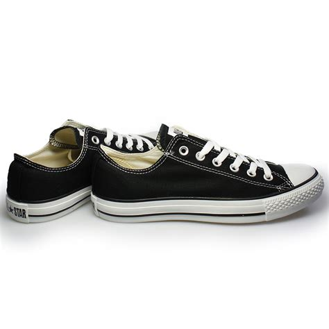 converse black sneakers converse all black canvas trainers sneakers shoes