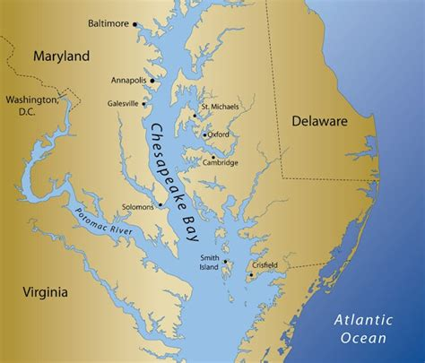chesapeake bay map chesapeake bay map my chesapeake bay