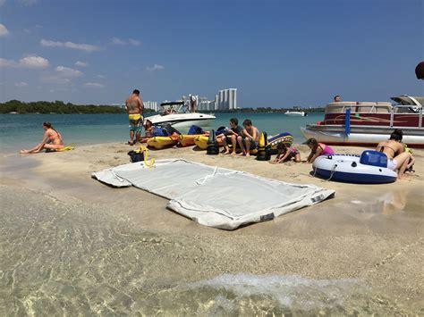 boat dock swim platform heavy duty inflatable island dock swim platform