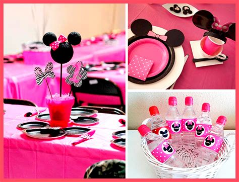 decorar botellas minnie decoracion de minnie mouse decoraci 243 n paso a paso
