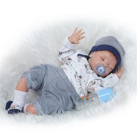Baby Boy Handmade Clothes - 22 handmade lifelike baby boy doll silicone vinyl reborn