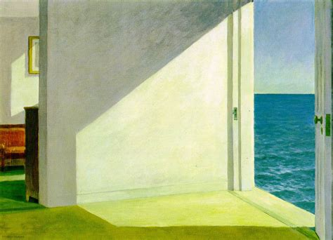 rooms by the sea webmuseum hopper edward interior