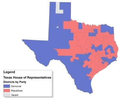 legislative districts in the texas house and senate are texas house of representatives elections 2010 ballotpedia