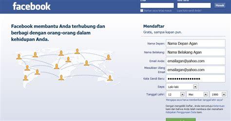 mau membuat facebook cara membuat facebook