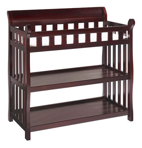 Eclipse Changing Table In Espresso Cherry Per Your Delta Changing Table Espresso