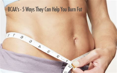 supplement to burn belly bcaa supplements 5 ways they ll help you burn belly