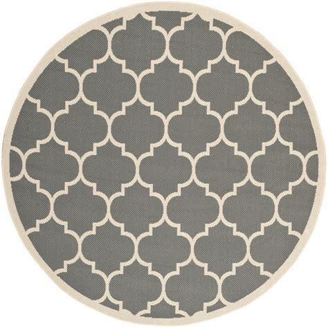 safavieh indoor outdoor grey beige polypropylene area rugs