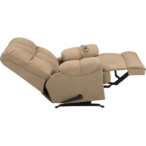 Cream Leather Chair Massage Chair Rocker Recliner Massage Chair Rocking
