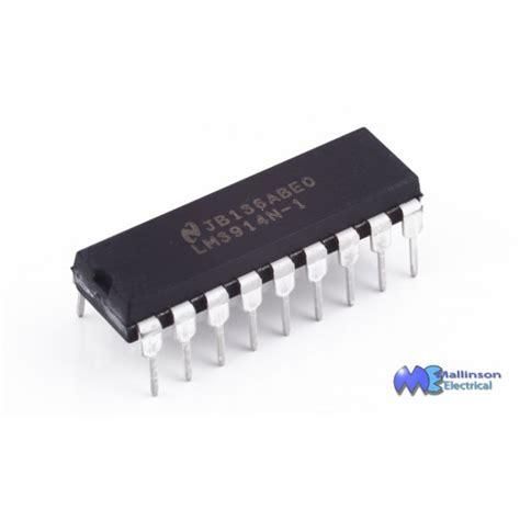 Ic Driver Led lm3914 led bargraph driver ic integrated circuits ic s components