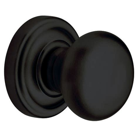Door Knobs Black by Shop Baldwin Classic Satin Black Dummy Door Knob At Lowes