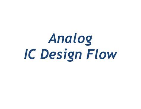 ieee israel analog circuit design engineer ieee blended learning program in vlsi