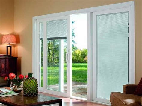 window covering ideas for sliding glass doors window treatment ways for sliding glass doors theydesign