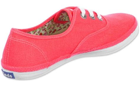 keds rookie w shoes neon pink
