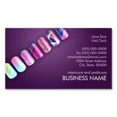 1000 images about nail technician business cards on