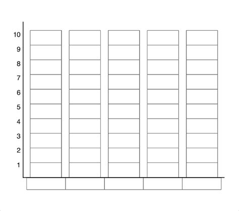 free bar templates printable bar graph template beepmunk