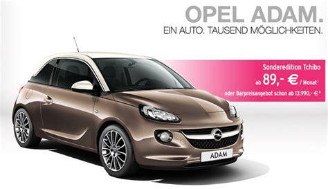 Auto Günstig Leasen by Opel Adam Leasing Bei Tchibo F 252 R 89