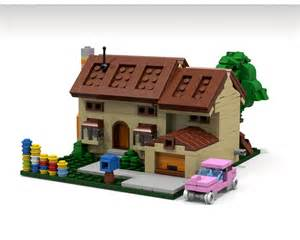 lego simpsons haus lego ideas the simpsons house micro scale modular building