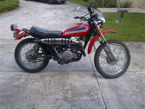 Ts 250 Suzuki For Sale Buy 1974 Suzuki Ts 250 Vintage Awesome On 2040 Motos