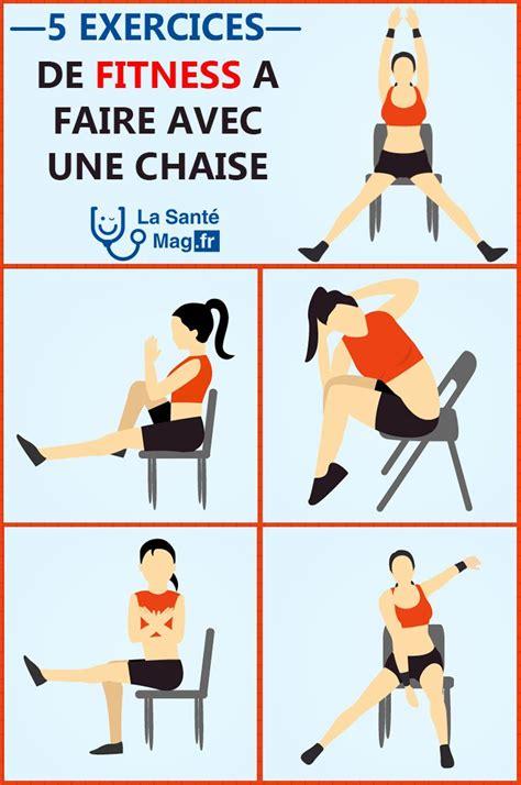 exercice de la chaise exercice ventre plat chaise