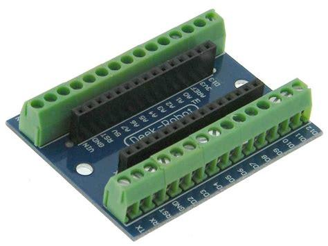 Arduino Nano Io Expansion Shield Board arduino nano expansion io shield