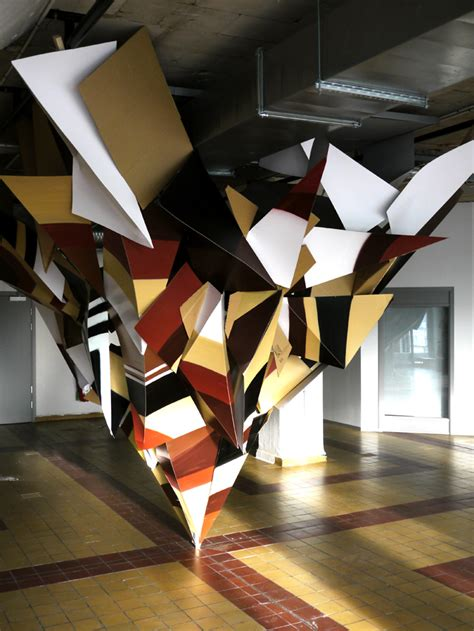 Exclusive Interior Design For Home Oversized Origami Art By Clemens Behr The Suite World