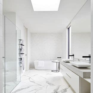 modern black and white bathroom black and white modern bathroom ideas houzz