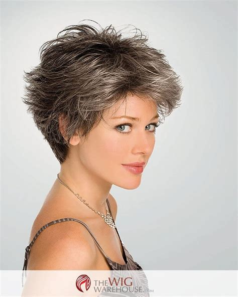 short gray hairstyles with wedge in back conviction by gabor wig by gabor парики pinterest