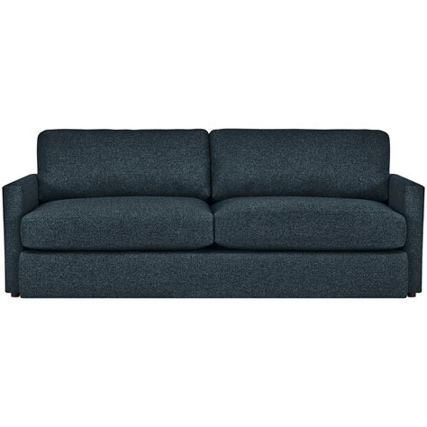 blue fabric sofas city furniture noah dark blue fabric sofa