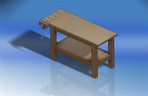 cad for woodworking workbench for woodworking autodesk inventor stl step