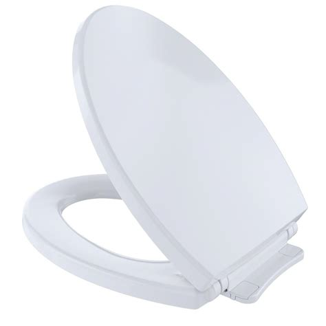 toto softclose elongated closed front toilet seat in