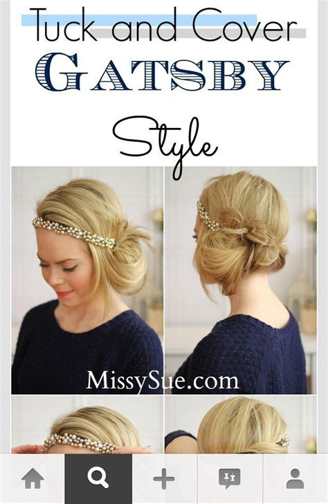 easy crimp 1920s hairstyles musely