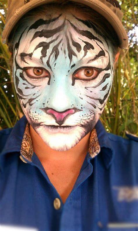 Real Tiger Face Realistic Tiger Makeup