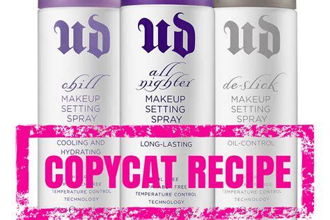 diy makeup setting spray recipe diy setting spray for makeup decay copycat recipe