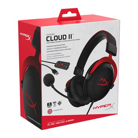 Hyperx Cloud Khx Hscp Rd kingston hyperx cloud ii khx hscp