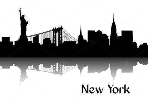 new york clip skyline clipart nyc skyline pencil and in color skyline