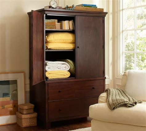 pottery barn armoire used valencia armoire pottery barn