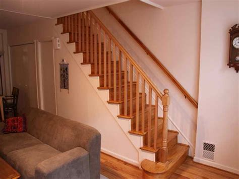 how to install banister on stairs installing stair rails wonderful woodworking