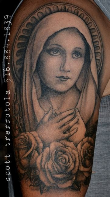 virgin mary half sleeve tattoo designs 18 tattoos on half sleeve