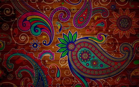 paisley pattern iphone wallpaper landscape planet art wallpaper 1920x1200 10703