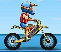 sueper motosiklet dubloerue  oyunu oyna motokros oyunlari