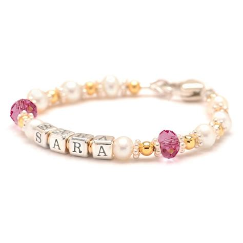 how to make baby jewelry freshwater pearl gold filled baby bracelet