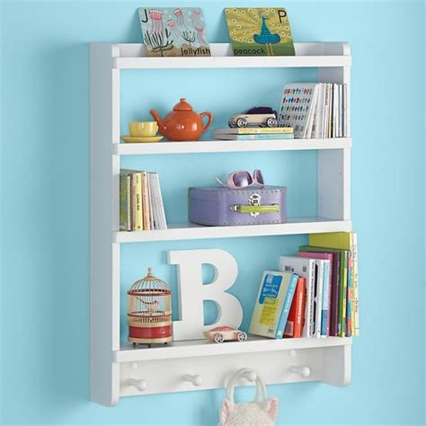 modern wall shelves for kids handmade charlotte white straight and narrow wall rack contemporary