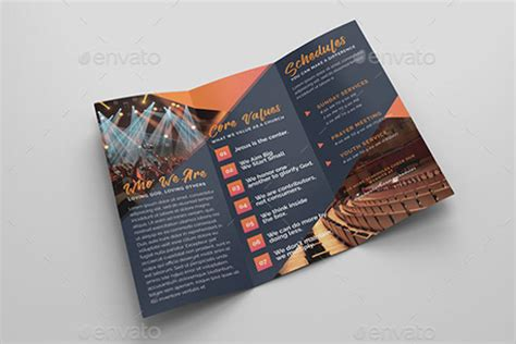 brochure layout ideas pdf sle church brochure templates free psd pdf design ideas on